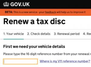 Vehicel tax